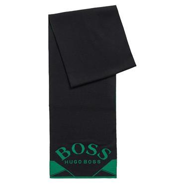BOSS Gents Albo Scarf  Black 001