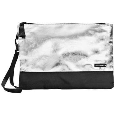 Rohnisch Isle Clutch Bag  Silver
