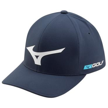 Mizuno Gents Tour Delta Cap Navy