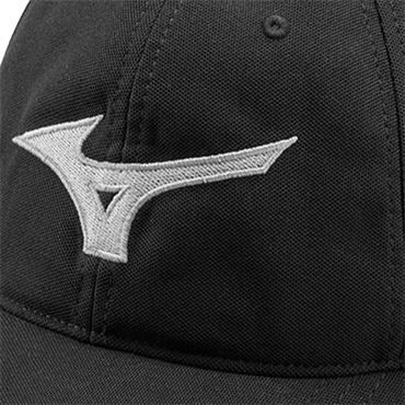 Mizuno Tour Adjustable Cap  Black-Grey