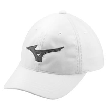Mizuno Tour Adjustable Cap  WHITE CHARCOAL