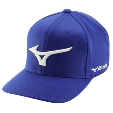 Mizuno Diamond Snapback Cap  Royal/White