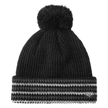 Mizuno Gents Thermo Bobble Hat  Black