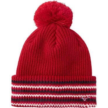 Mizuno Gents Thermo Bobble Hat  Tango Red