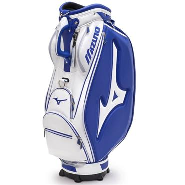 Mizuno Pro Staff Lite Bag White - Blue