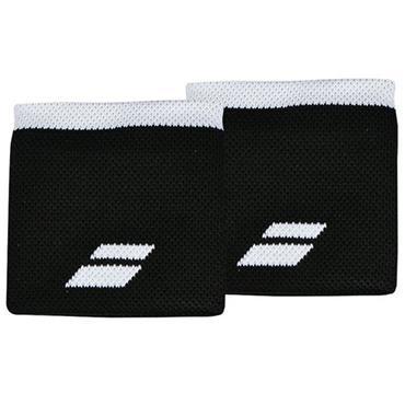 Babolat Logo Tennis Wristband Black - White
