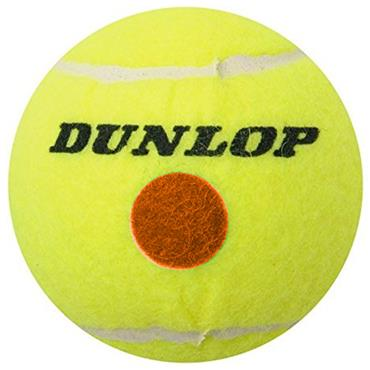 Dunlop D TB Stage-2 Tennis Balls  Orange