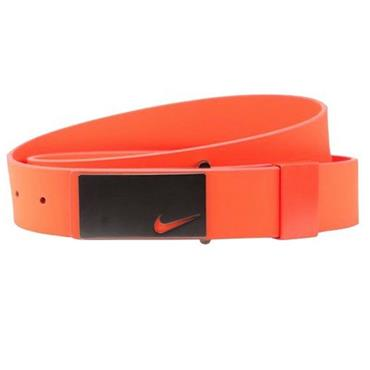 Nike Sleek Plaque Belt  Orange 852