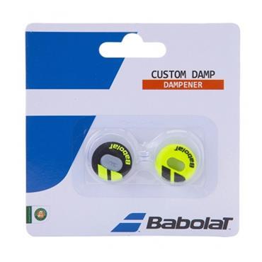 Babolat Custom Tennis Damp Dampener Black - Yellow