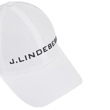 J.Lindeberg Ace Mesh Seamless Cap Medium White 0000