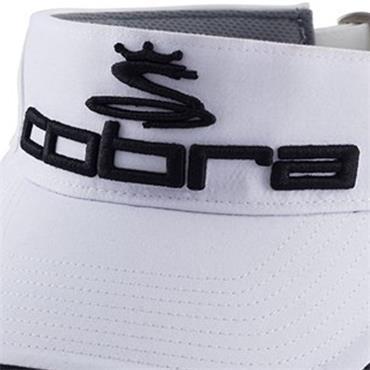 Cobra Pro Tour Visor  White Black