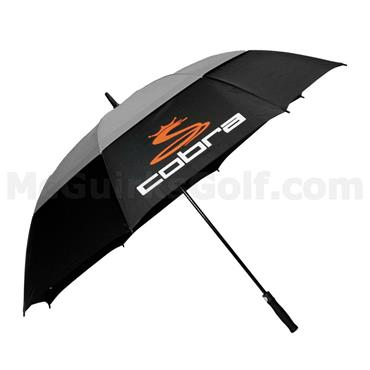 "Cobra 68"" Double Canopy Umbrella  Black"