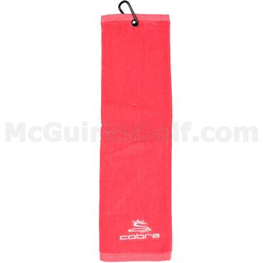 "Cobra TriFold Towel 20""x5.5""  Raspberry"
