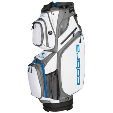Cobra Ultralight Cart Bag White - Blue