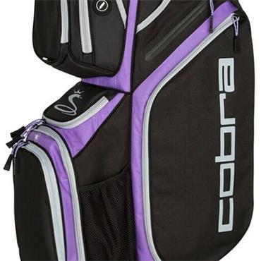 Cobra Ultra Cart Bag  Black/Purple