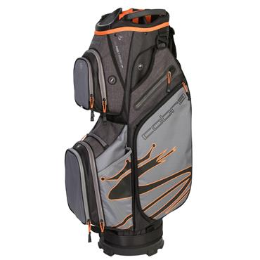 Cobra Ultralight Cart Bag  Black/Orange