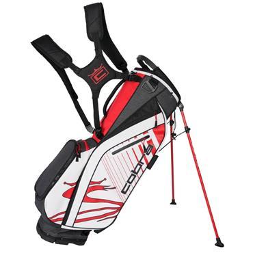 Cobra Ultralight Stand Bag  Black/Red/White