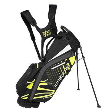 Cobra Ultralight Stand Bag  Black Turbo Yellow