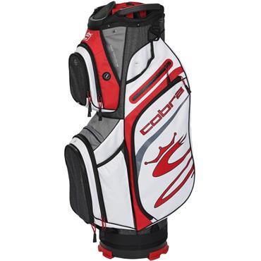 Cobra Ultralight Cart Bag  Black/Red/White