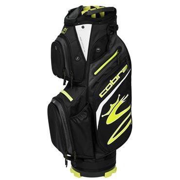 Cobra Ultralight Cart Bag  Black Turbo Yellow