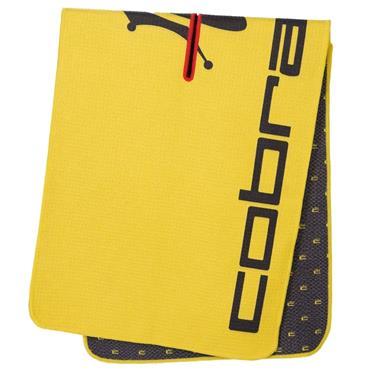 Cobra Crown C Players Towel  Black/Yellow