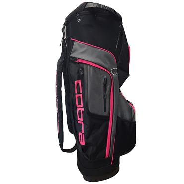 Cobra XL Speed Ladies Cart Bag  Black - Pink
