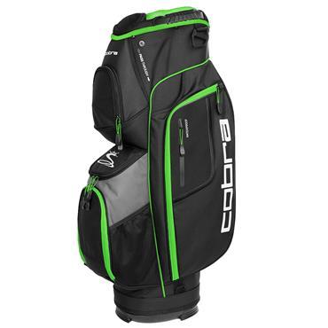 Cobra XL Cart Bag  Black/Grey/Green