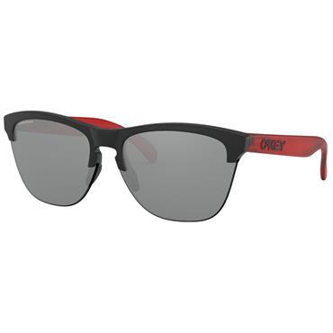 Oakley OO9374 Frogskins Lite Sunglasses  Black/Red