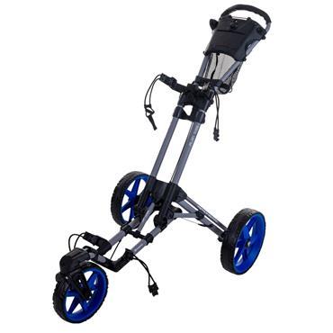 FastFold Flex 360 Trolley  Charcoal/Blue