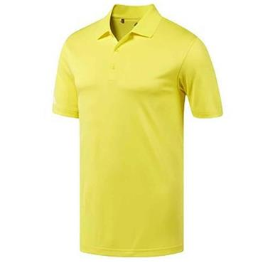 adidas Corporate Gents Performance Polo Shirt Yellow