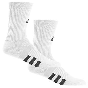 adidas Gents Crew Socks 2-Pack  White