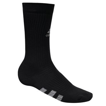 adidas Gents Crew Socks 2-Pack  Black