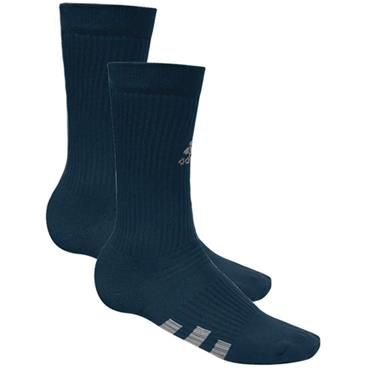adidas Gents Crew Socks 2-Pack  Blue