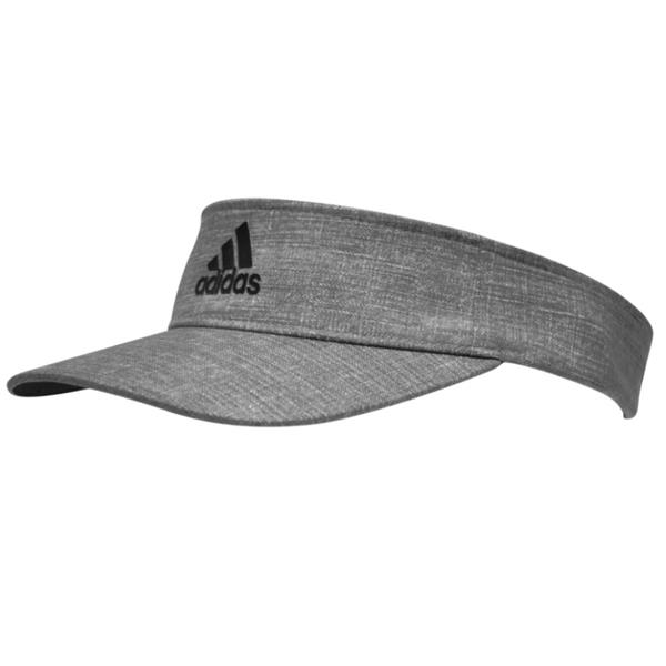 ef430adb5ef54 adidas FlexFit Golf Visor Vista Grey