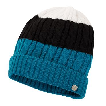 Green Lamb Ladies Hope Beanie Hat  Flow Blue/Black