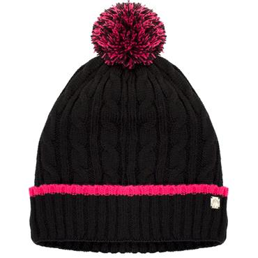 3a8e623fbba Green Lamb Ladies Harper Lined Beanie with Tipping Black Rose ...