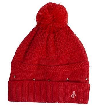 Green Lamb Inge Fleece Lined Hat  Rouge