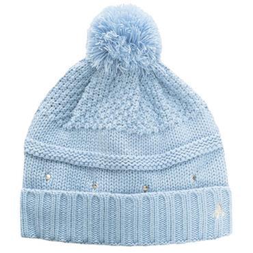 Green Lamb Inge Fleece Lined Hat Ladies  Powder Blue