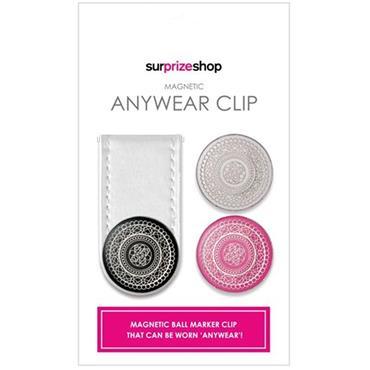 Surprizeshop Anywear Clip & Ball Marker  White