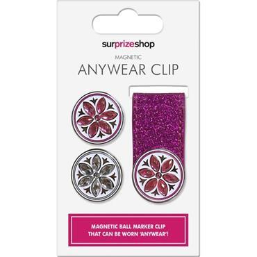Surprizeshop Anywear Clip & Ball Marker  Pink