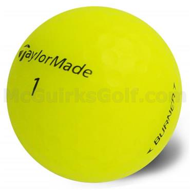 TaylorMade Tay  Burner Soft Golf Ball Dozen Yellow