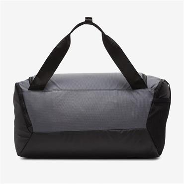 Nike Brasilia Duffel Bag . Grey Black White 026