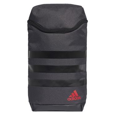 Adidas Adi 3 Stripe Shoe Bag Dark Grey ... a5f4e845380b1