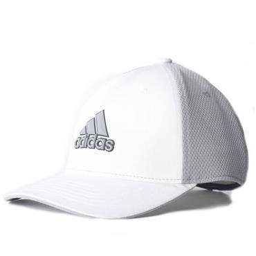 adidas Tour Climacool Flexfit Cap Small to Medium White