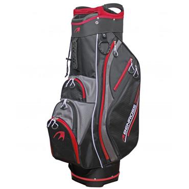 BenRoss HTX Compressor Cart Bag Black - Red