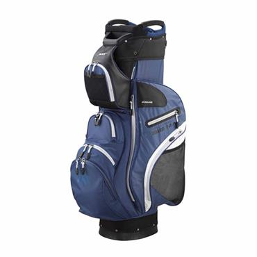 Big Max Dri-Lite Prime Cart Bag  Blue Black White