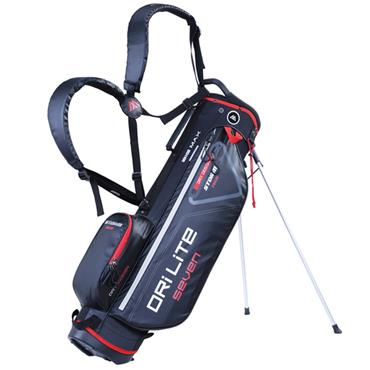 Big Max Dri Lite 7 Stand Bag  Black/Red