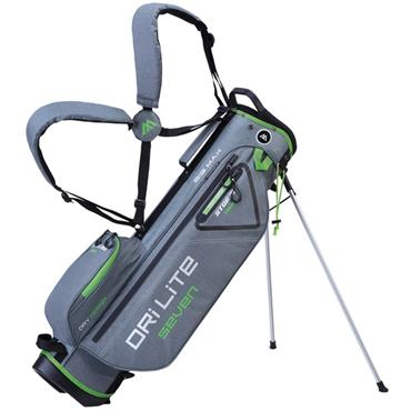 Big Max Dri Lite 7 Stand Bag  Storm - Silver - Lime