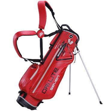 Big Max Dri Lite 7 Stand Bag  Red