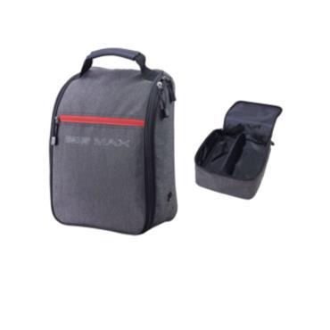 Big Max Classic Shoe Bag  Charcoal/Red